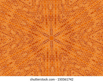 Background with abstract brick pattern
