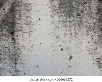 Background abstract of dirty white paint concrete wall for backdrop texture