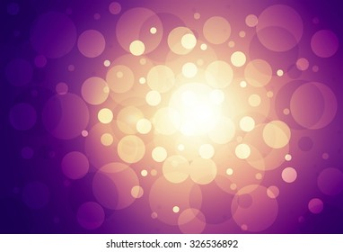 Background with abstract shining light.