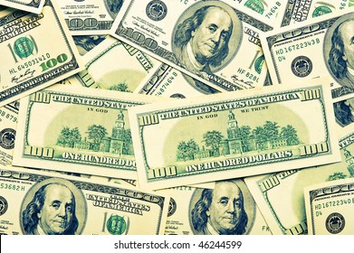 background of the american dollars