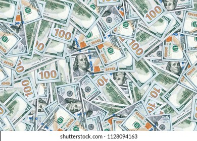 background of the american dollars. monetary texture. The richness of the concept. The big profits. Million U.S. bucks