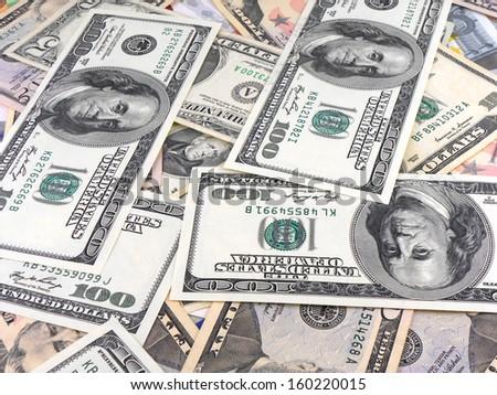 Background American Money Dollars Wallpaper Stock Photo Edit Now