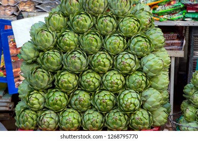 background with artichoke flower, photo use for design advertising, trade and more