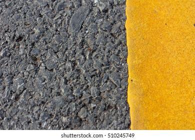 Background asphalt road