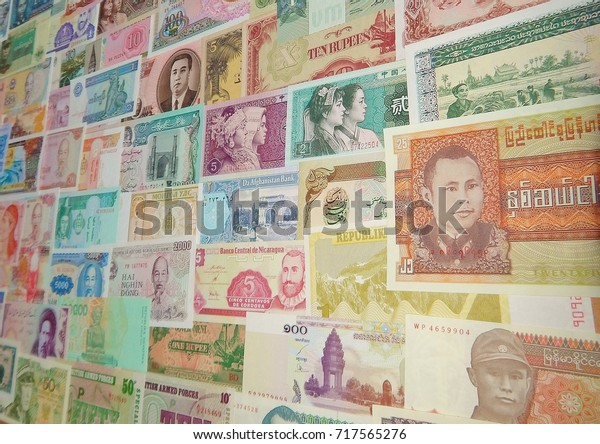 Background Banknotes World Paper Money Stock Photo (Edit Now