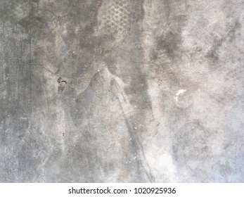 Background of bare plaster concrete wall texture