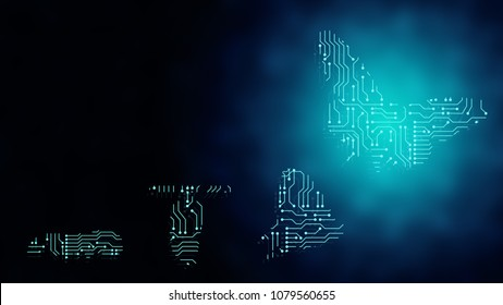 Background of beautiful abstract Business transformation innovation. Change to high technology like butterfly life cycle. For success leader in future digital business growth transform concept