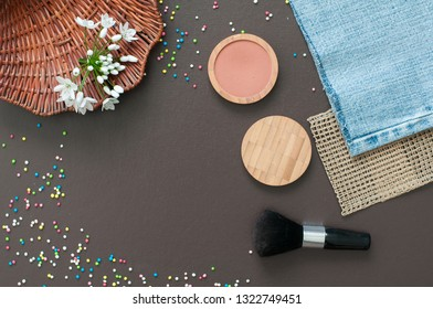 Background for beauty salon and beautician