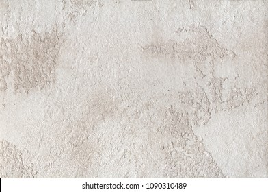 Background - beige plaster, decorative coating for walls with low relief