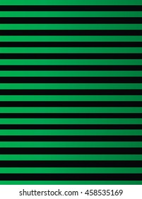 Background of black and green lines. Background pattern of black and green horizontal lines on a gradient tone.