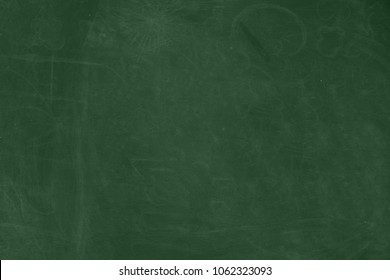 background of blank blackboard with chalk rubbed textured