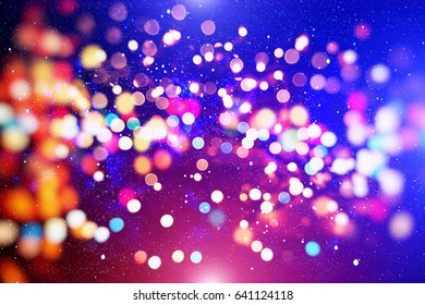 Background With Blinking Stars
