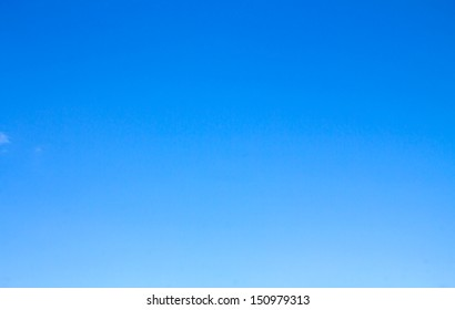 background of blue sky without clouds