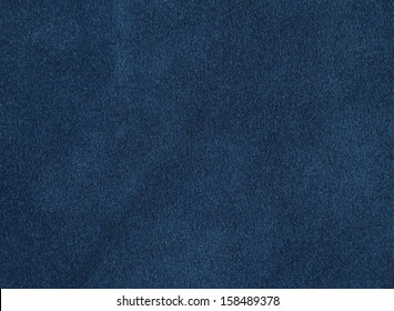 Background with blue suede, close up