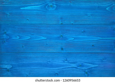 Background of blue wooden texture.