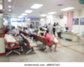 Background blur the number of patients waiting for treatment in hospital due to bad weather. People get sick easily.The nurse is on healthcare services,medical ,health,emergency ,accident ,clinic ,ER