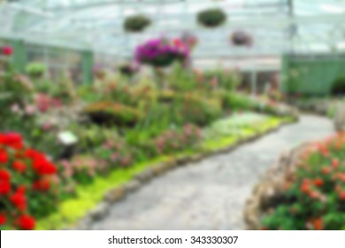 Beautiful flower indoor garden stock photo royalty free 367550291 background of blured indoor flower garden workwithnaturefo