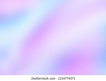 The background is blurred frosted glass, frost pattern, pink and blue waves, the substrate for the text.