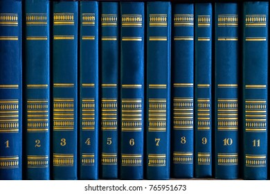 background of books standing on a shelf
