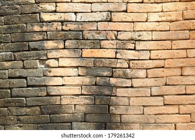 Background of brick old wall texture