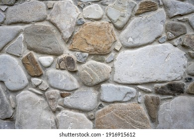 Background of brick stone wall texture. Close up image. Outdoor home decoration