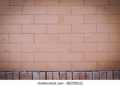 background brick vintage