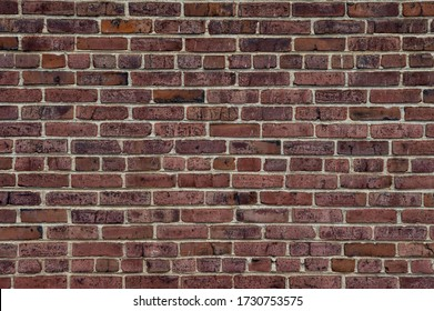 A background of a brick wall.