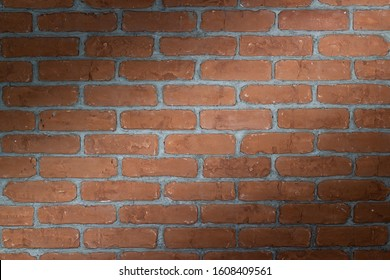 background of brick wall. wall with lighting