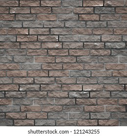Background of brick wall  seamless texture