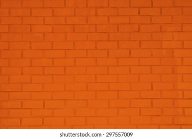Background of brick wall texture.  Rectangle format.