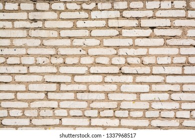 Background - brickwork. The surface of the brick wall, the texture of the stone.