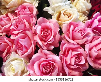 Pink Roses Background Images Stock Photos Vectors Shutterstock