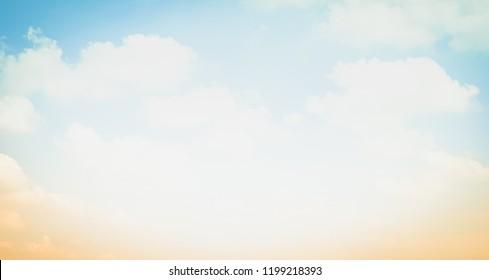 Background bright sky beauty sunset