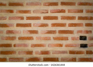 Background of Brown Brick wall.