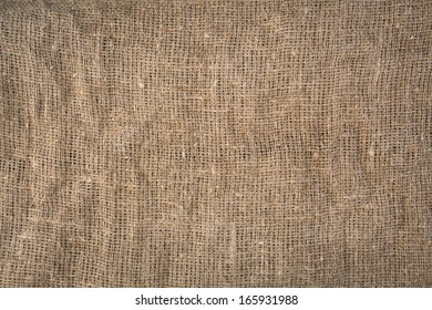background with brown canvas texture