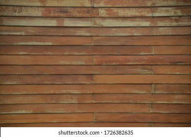 Background Brown Wooden Wall is a traditional style in Thailand.