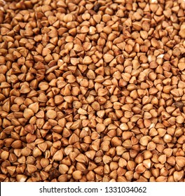 background of buckwheat cereal