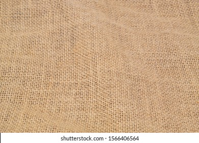Background of burlap sack textile