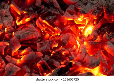 background from the burning of coal