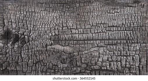 background burnt wood