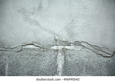 Background cement wall