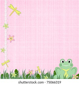 Background for children card
