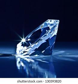 background of classic diamond blue tone