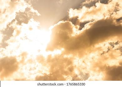 Background clouds sky sunshine nature