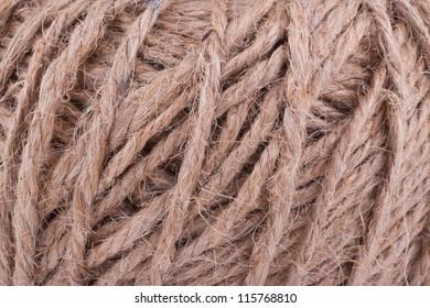 Background of coarse thread twine.
