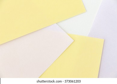 Background of colored papers