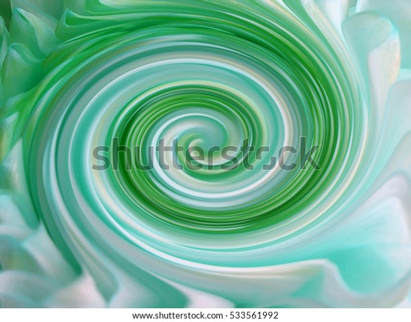 background, colorful  lines are twisted spiral.  brightly colored lines turquoise, white, blue; green, yellow. for design.