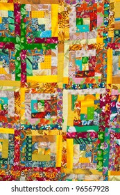 Background of the colorful patchwork