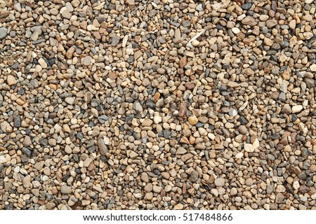 Delicieux Background Of Colorful Small Pebbles Or Stone In Garden