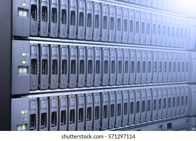 background of computer servers